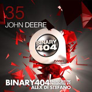 035 - Alex Di Stefano - Binary404 Radio Show /w John Deere