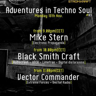 Vector Commander Live PA @ Adventures in Techno Soul Podcast - Italy - 18-11-2013