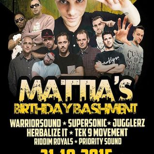 MATTIA'S BIRTHDAY BASH @ U Club, Wuppertal 31.10.2015