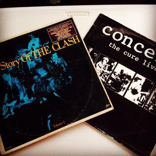 Vinyl Mix Sampler 23 - Punk vs Goth Mixtape feat The Cure/The Clash
