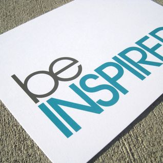 Be Inspired - Wednesday 20.05.15
