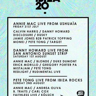 Annie Mac b2b Pete Tong - Live @ Ushuaia (Ibiza) - 31.07.2015