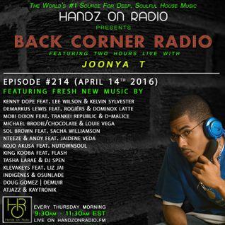 BACK CORNER RADIO: Episode #214 (April 14th 2016)