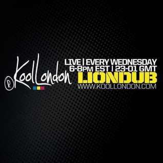 LIONDUB  - 10.07.15 - KOOLLONDON [RAGGA JUNGLE DRUM & BASS]