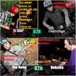 dj snap show on  vibe  fm  with  guest  dubzilla / big nang /centrifuge  28/11/16