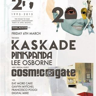 Cosmic Gate - Live @ Ministry of Sound (London) - 06.03.2015