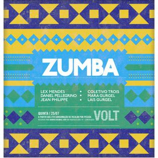 ZUMBA PARTY (parte 2) - Bar VOLT - 25 de Julho de 2013 (Daniel Pellegrino Setlist)
