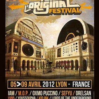 """""""L'original Festival"""" 2012 Mix"""