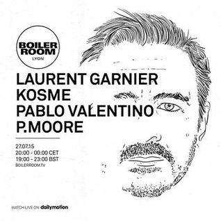 Laurent Garnier - live at Boiler Room LeSucre, Lyon, France - 27th July 2015