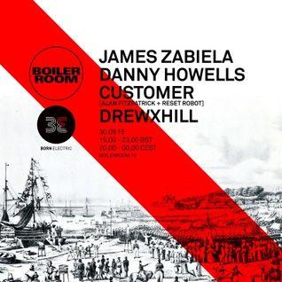 James Zabiela - live at Boiler Room Southampton (Born Electric BD) - 30-Sep-2015