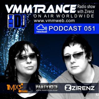 VMMTRANCE 051 with Zirenz