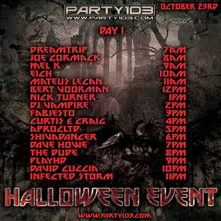 Nick Turner - PARTY 103 Halloween Event 2015