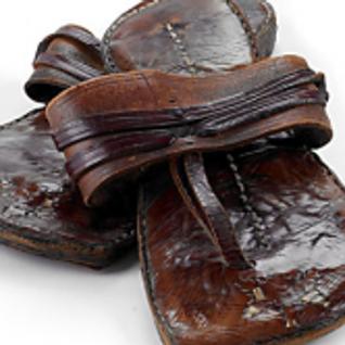 Ghandi's Sandals