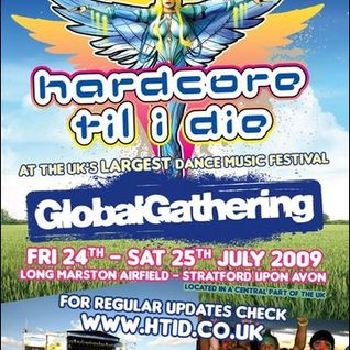 HTID At Global Gathering 2009 - Hixxy & Chris Unknown