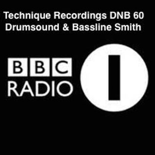 DNB 60 - Technique Recordings Mixed By Drumsound & Bassline Smith