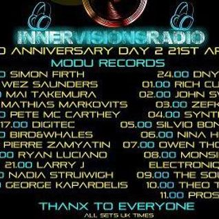 Synteck - Modu Records Innervisions 3rd Anniversary Guest Mix