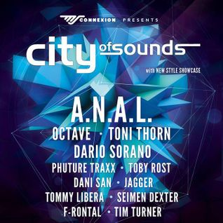 Dario Sorano @ City Of Sound - Ms Connexion 27-02-2015 - Mannheimer
