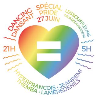 Dancing Dansant V Special Gay Pride - 27 Juin 2015 - Les Souffleurs