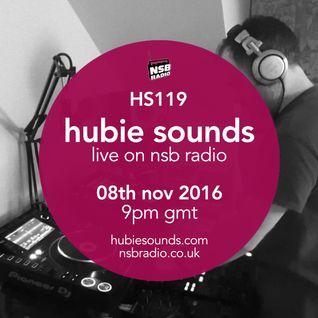 Hubie Sounds 119 - 08th Nov 2016