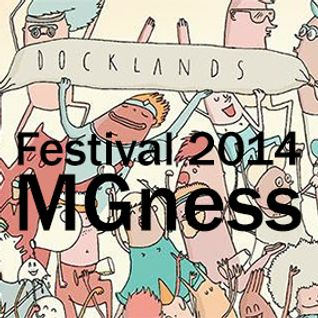 MGness at Docklandsfestival 2014