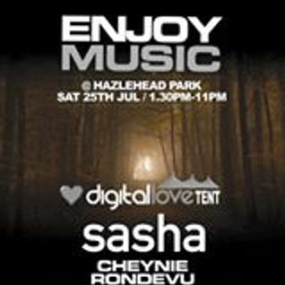 Cheynie @ Enjoy Music Festival,Aberdeen (Sasha Warm Up)