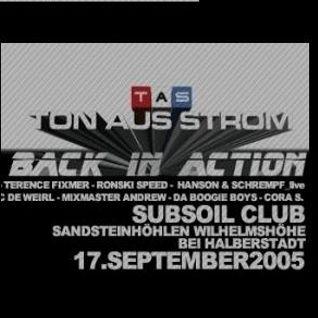 2005_09_17_Pulque @ Sandsteinhöhlen Halberstadt -TON AUS STROM - BACK IN ACTION-
