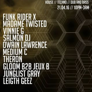 """""""Underground Deep"""" Podcast 001 : Funk Rider X and Groove2Trac-Z"""