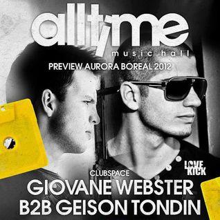 Giovane Webster b2b Geison Tondin @ All Time Music Hall - Nova Prata-RS - 06.10.12