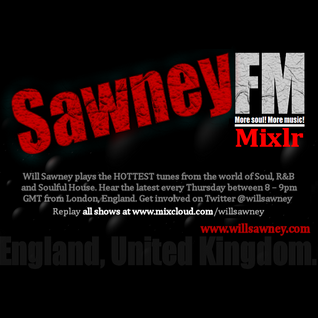 THE WILL SAWNEY SOUL SHOW (Xtra) - Saturday, 28th November 2015.