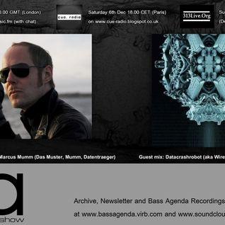 Bass Agenda 117: Interview with DAS MUSTER and DATACRASHROBOT guest mix