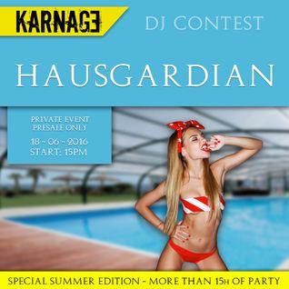 HausGardian - Techno - DJ Contest