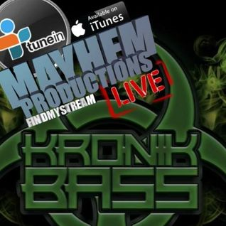 The Weekly Kronik Bass Show - 19th March 2016 ft. Mad Briller