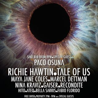 Richie Hawtin - Live @ Enter.Main Week 14 Closing Party, Space (Ibiza) - 02.10.2014