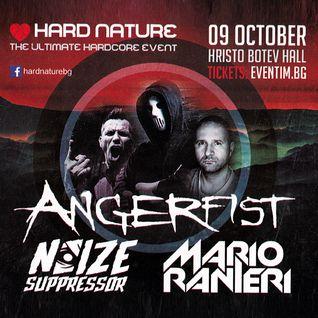 Mario Ranieri @ Hard Nature, Hristo Botev Hall, Sofia, Bulgaria 9.10.2015