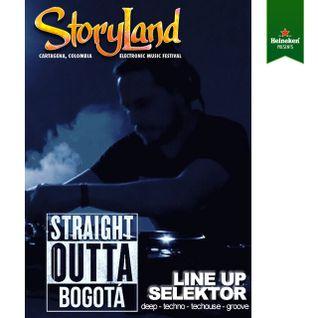 Paul Lennar Storyland 2016 - Mini Mix