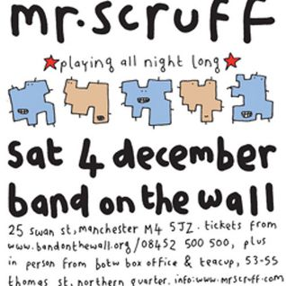 Mr Scruff live DJ mix from Band On The Wall, Manchester, Saturday 4th December 2010