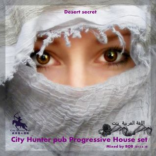 City Hunter pub Progressive House set (Desert Secret) Mixed by BOB