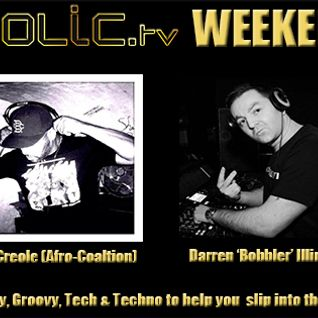 The Clubaholic Weekend Warmup Radio Show featuring live guest mix from Dean Creole 10/10/13