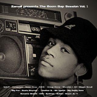 Zamali presents The Boom Bap session Vol. 1