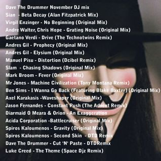 Dave The Drummer Bonfire Night DJ Mix November 2011