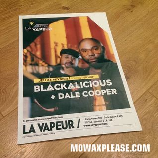 Dale Cooper - All vinyl Mo' Wax opening set for Blackalicious, live @ la Vapeur, Dijon (26.02.2015)