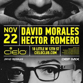 Hector Romero Live at Cielo NYC Nov 22 2014