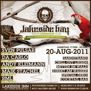Lakeside bay meets HIGHNOON Club 20.08.11 - Maik Stachel(Mike Sting) liveset
