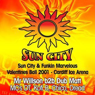 Mr Willson B2b Dub Matt - Old Skool Garage - Sun City Cardiff 2001