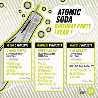 DJ Geoff - Live Mix at 4 Elements, Paris (2011 House Mix Archive)