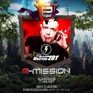 Doctor Zot ft. Mc Ivan Maister @ E-Mission 2015 - Guardians Of Unlost - Florida - Italy