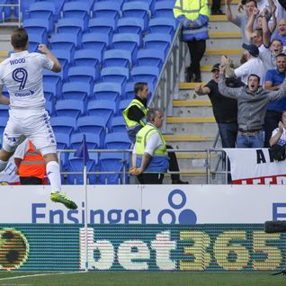 Cardiff 0-1 #LUFC - Wood's penalty