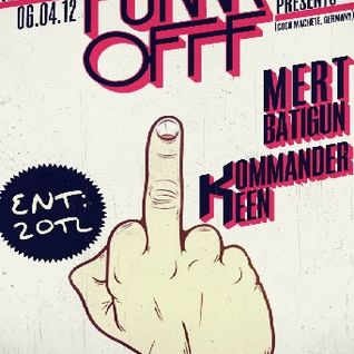 Mert Batigun - Live Dj set 6th April Fukkk Offf @Machine