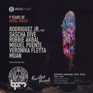 ROBBIE AKBAL - AKBAL MUSIC SHOWCASE @ CANIBAL ROYAL - THE BPM FESTIVAL 2016