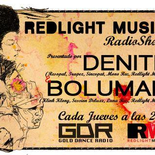 Redlight Music Radioshow 005 @ Gold Dance Radio // By Denite
